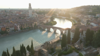 Pont Ponte Pietra, Vérone, Italie