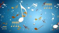 Musical note background