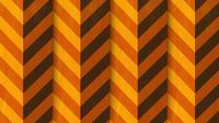 Transitions de flèches verticales de la palette orange