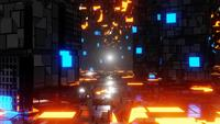 Metall-Sci-Fi-Korridor