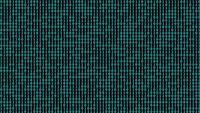Fondo digital de código binario