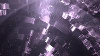 Fond violet brillant en boucle