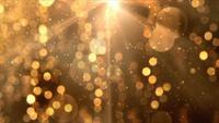 Golden glitzernder Hintergrund