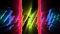 Looped Liquid Colors Hintergrund