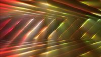 Stries de lumières colorées
