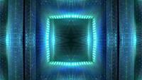 Glühender futuristischer Hintergrund