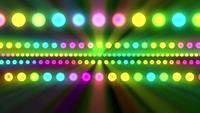 Lumières colorées brillantes