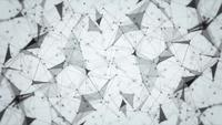Lichtgrijze Plexus Abstracte Achtergrond