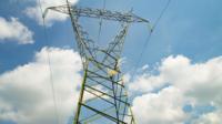 Hoogspannings elektrische pyloon