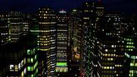 La nuit dans la ville