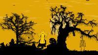 Halloween Animation Schwenken Hintergrund