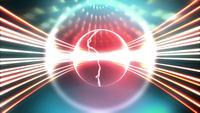 Fondo de esfera de energía