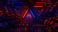 Von außerirdischen Schiffen inspirierter Tunneleffekt