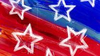 Amerikaanse sterren achtergrond
