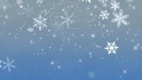 Copos de nieve blancos y Bokeh abstracto