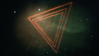 Red Triangles and Green Grid