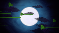 De heksenbezems en de maan