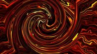Hypnotizing vortex fractal art animation loop neon wave