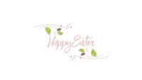 Texto de Pascua y hojas verdes