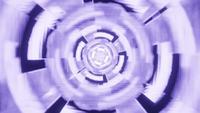 Hypnotic Circular 3d Rendering Passage 4k UHD VJ Loop