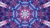 Psychedelic Animated Perspective Tunnel