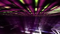 Futuristische gegevensrasters met lichteffecten