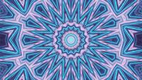 Star Centered Flower Background