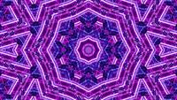 3D Rendering Shades of Pink and Purple VJ Loop