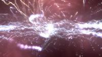 Abstrakter Kampf des Blitzes
