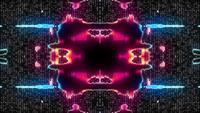 Futuristisches Technologie-Kaleidoskop