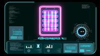 Futuristische Batterie neue Technologie