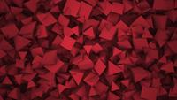 Red polygonal shapes