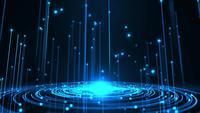 Projeção digital de um portal Warp