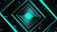 Tunnel de diamants turquoise