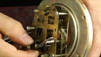 Réparation d'horloge vintage