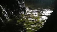 À l'intérieur de la grotte