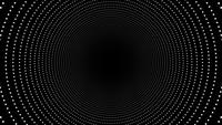 Abstract Concentric Circles Tunnel Background Loop