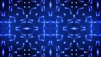 Abstract Kaleidoscope Light Leds Looped Animation