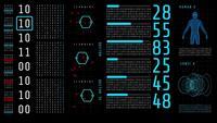 Digitaler Anzeigedatenprozess der Bildschirmtechnologie.