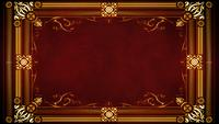 Vintage Gold Ornamental Frame With Floral Patterns Intro Reveal