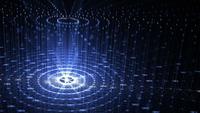 Technologie kunstmatige intelligentie achtergrond