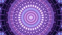 Efecto de variación de color ilusorio prismático 4k, lazo vj de renderizado 3d