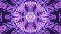 Blazing Purple Star Passage 4k 3D-Rendering-VJ-Schleife