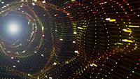 Túnel de ondas de partículas