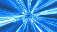 Énergie d'explosion du feu du plasma cosmique Visual Fx