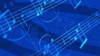 Musique abstraite qui coule de fond