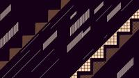 Abstract geometric zig zag and stripes