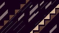 Rayures et zigzag géométriques abstraites