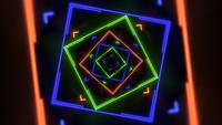 Neon abstract hypnotic background