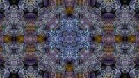 Kaléidoscope forme scintillement et torsion